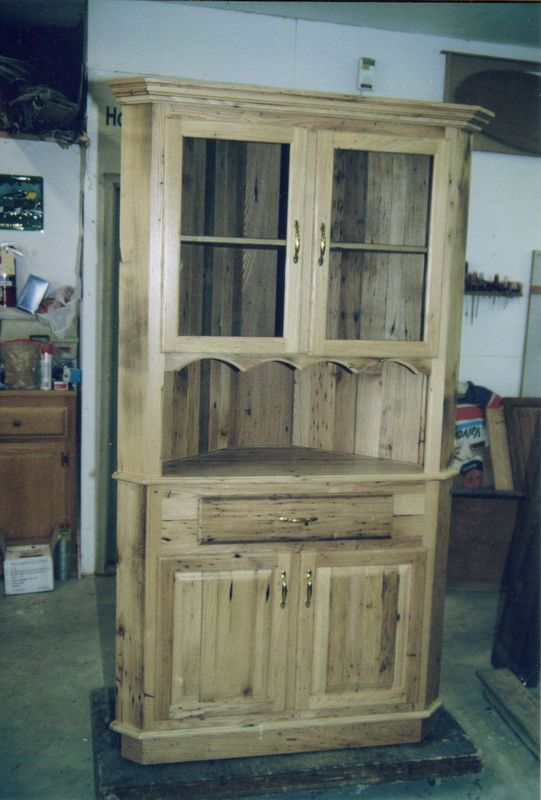 Hoover Custom Furniture - Corner Cabinets, Tables, and Chairs